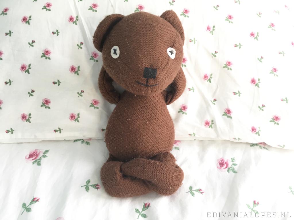Teddy biedt een luisterend oor